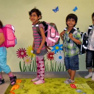 Unterstützung der Kinder in der Gemeinschaftsunterkunft für Asylbewerber