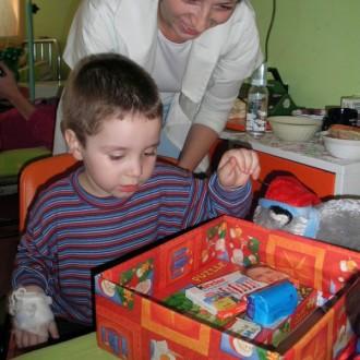 1. Rumänien Weihnachtsaktion